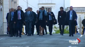 G7 foreign ministers kick off second day of talks